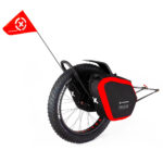 Bicycle trailer Extrawheel Mate Nomad bag