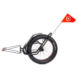 Bicycle trailer MATE with DRIFTER Premium bags 100L